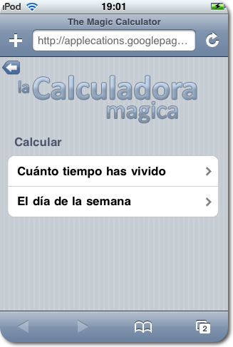 Magic Calculator.